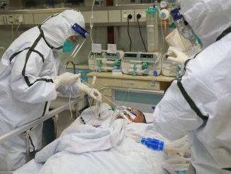 Mayat Mangsa Koronavirus Dibakar