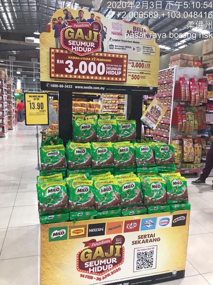 Nestle Gaji Seumur Hidup 1