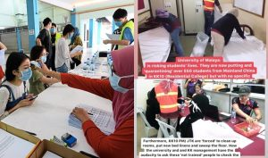 Kesatuan Mahasiswa Pelajar UM Terpaksa Urus Pelajar China Koornavirus 5