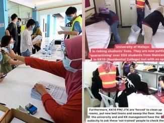 Pelajar UM Terpaksa Urus Pelajar China Koornavirus 5