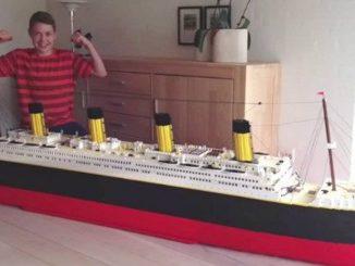Remaja Autistik Replika Kapal Titanic Terbesar Dunia 1
