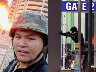 Tentera Thailand Tembakan Rambang Di Pusat Beli Belah 4