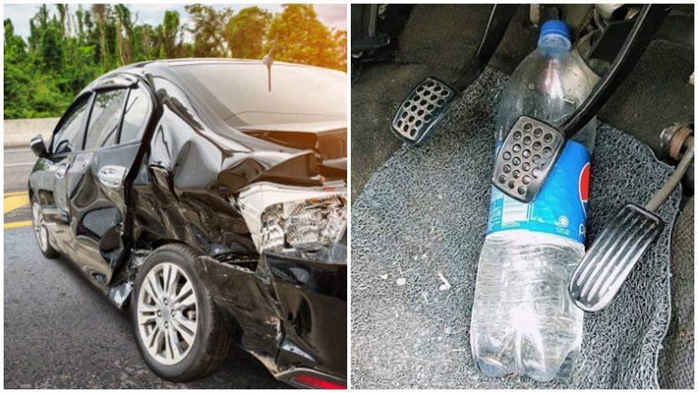 Botol Air Dalam Kenderaan Punca Kemalangan