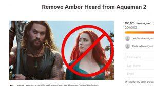 Petisyen Desak Singkir Amber Heard Aquaman 2