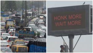 Polis Mumbai Ajar Pemandu Jalan Raya Yang Suka Hon