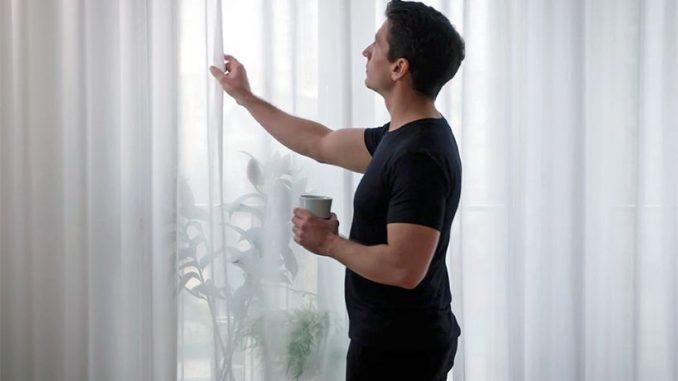 Langsir IKEA Tapis Udara Dalam Rumah