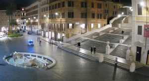 Itali Sunyi Sepi Hospital Berperang