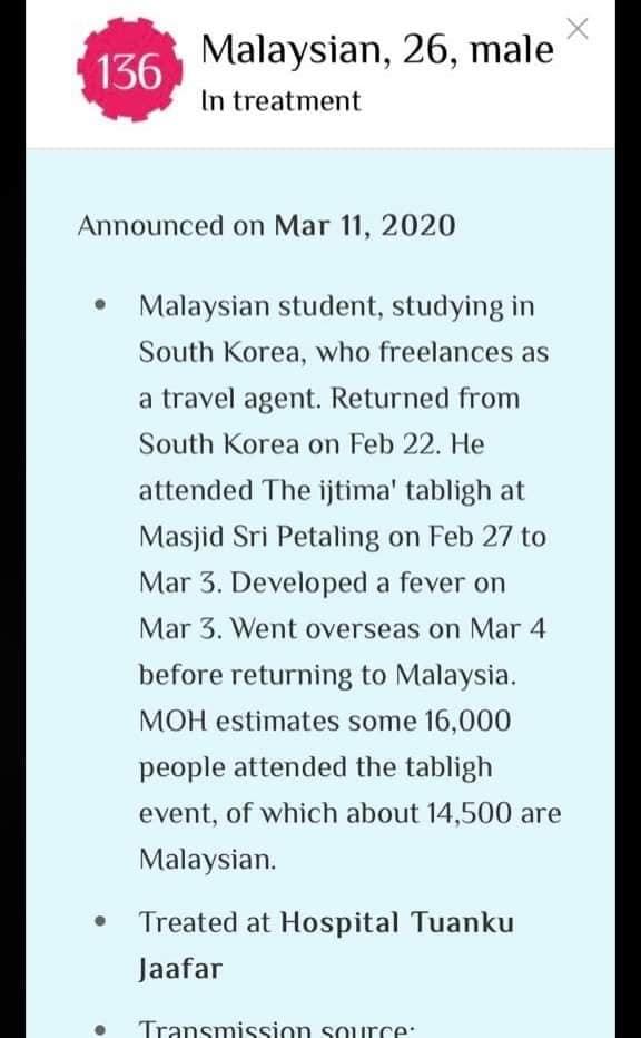 COVID-19 Kes 136 punca Gelombang Kedua Di Malaysia 1