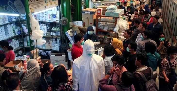 Indonesia Sahkan kes Pertama, rakyat Lakukan Pembelian Panik