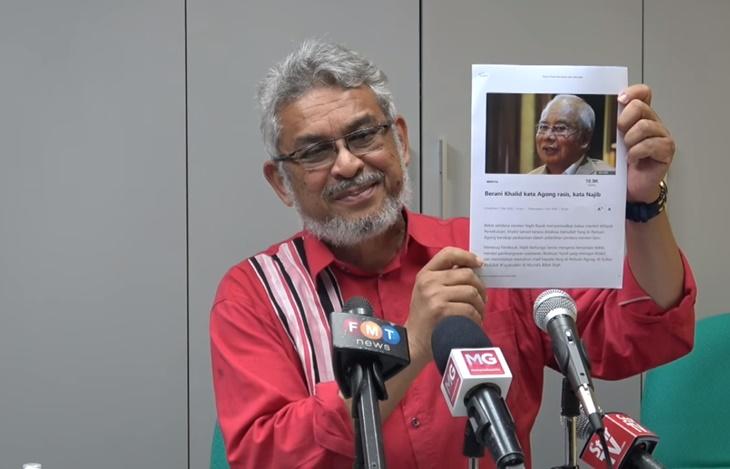 Khalid Samad Saman Najib Razak 1