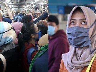 Tiada Istilah 'Kerja Dari Rumah', LRT Di Indonesia Masih Sesak Dengan Warga Kota 2