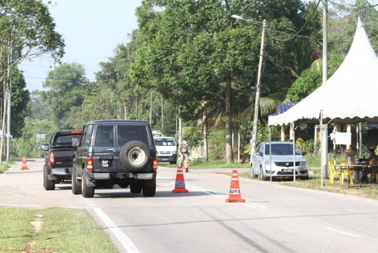 Total Lockdown Simpang Renggam 1