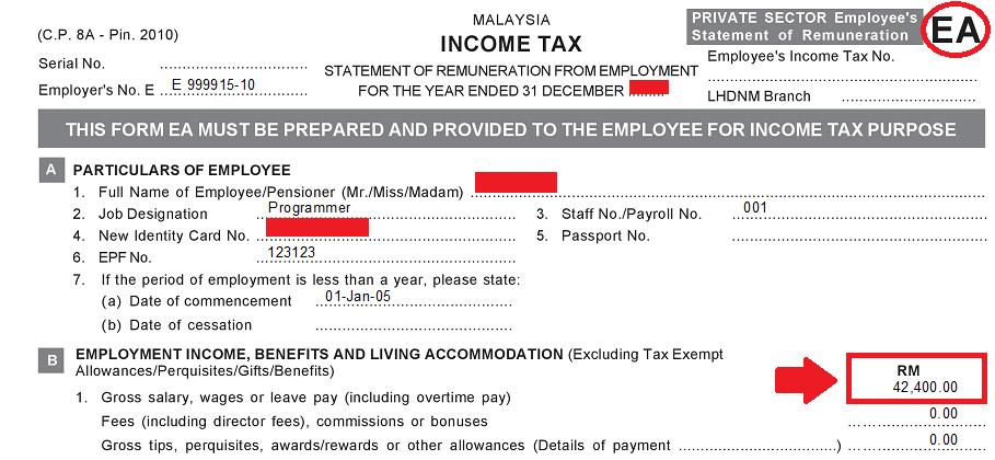 cukai pendapatan