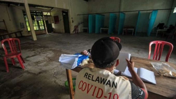 Indonesia COVID-19 Rumah Hantu