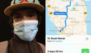 Rindu Anak, Hilang Kerja Jadi Punca Lelaki 'Buat Gila' Sanggup Balik Kelantan Jalan Kaki 4