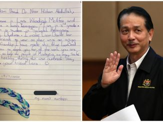 Surat Kanak-Kanak Dibalas Dr Noor Hisham