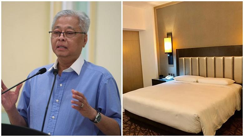 Hotel Pusat Kuarantin Tanggung Sendiri