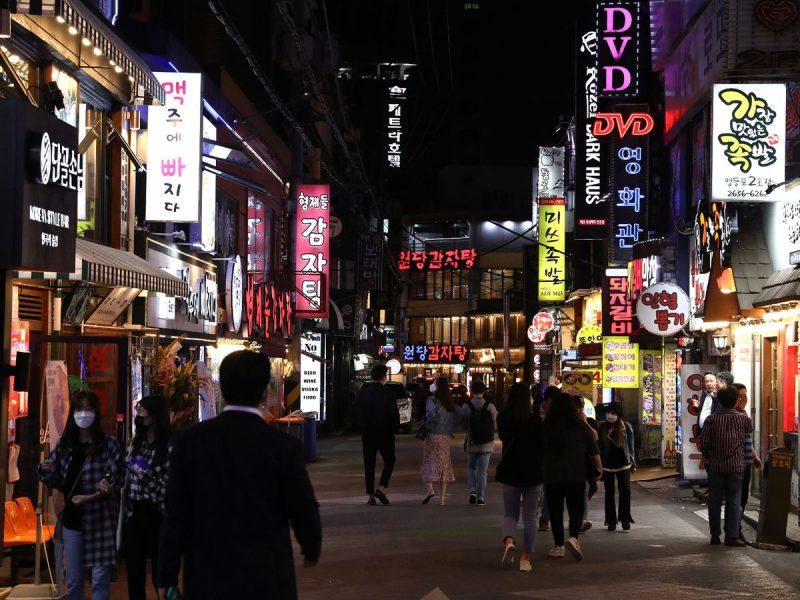 Kluster Kelab Malam Korea Selatan