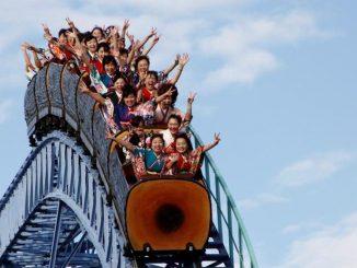 Tak Boleh Jerit Naik Roller Coaster COVID-19