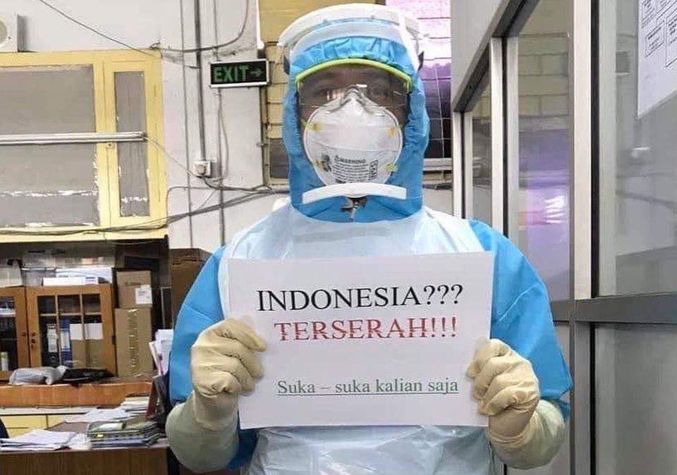 Indonesia Terserah COVID-19