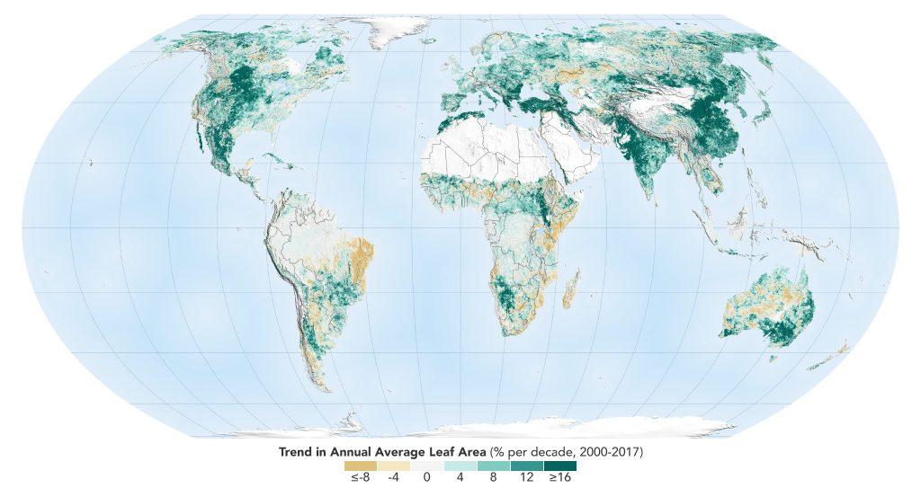Bumi Lebih Hijau Berbanding 20 Tahun Lalu – NASA