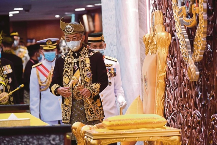 Ini Sebab Mengapa YDPA Menggelarkan Malaysia Sebagai 'Kerajaan Beta' Dalam Persidangan Dewan Rakyat 1