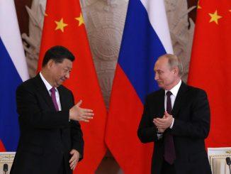 'Kemesraan' China-Rusia Keruhkan Lagi Krisis Amerika Syarikat -China