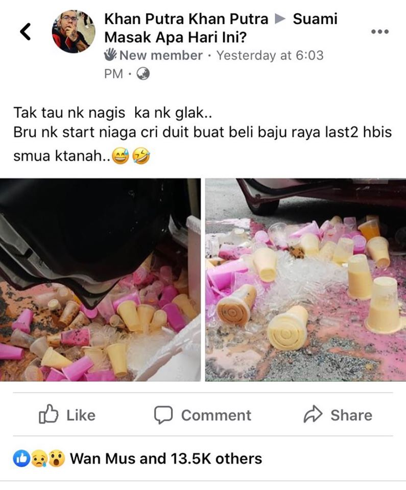Kongsi Jualan Air Tumpah, Ahli Group 'Suami Masak Apa Hari Ini' Tunjuk Semangat Brotherhood 1