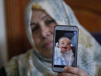 Bayi Lapan Bulan Meninggal Dunia Palestin Israel