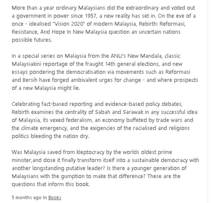 Buku Papar Imej Mirip Jata Negara Merupakan Satu Penghinaan Kepada Negara 1