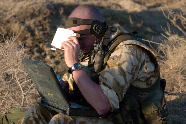 United Kingdom Tubuh Pasukan Tentera Bagi Peperangan Dalam Talian 1