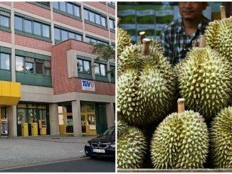Dikerja Hospital Tak Tahan Bau Durian