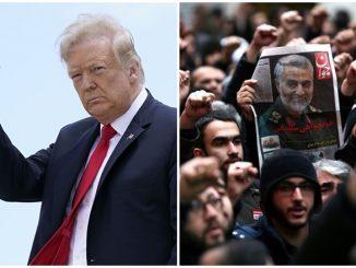 Iran Waran Tangkap Trump