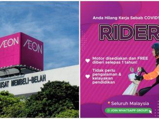 Kerja AEON Rider