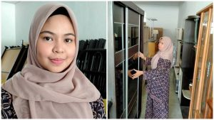 Mahasiswi Jual Perabot Terpakai