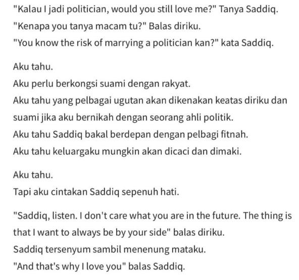 'Always By Your Syed', Satu Novel Imaginasi Tentang Syed Saddiq Buat Netizen Terkedu 2