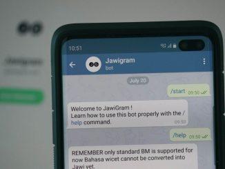 Jawigram, Bantu Anda Tulis Jawi Dengan Lebih Mudah 1
