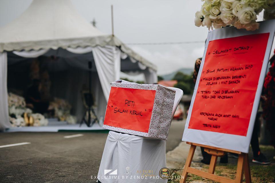 Pasangan Ini Cipta Sejarah Anjur Majlis Perkahwinan Pandu Lalu, Seminit Untuk Setiap Kenderaan 1