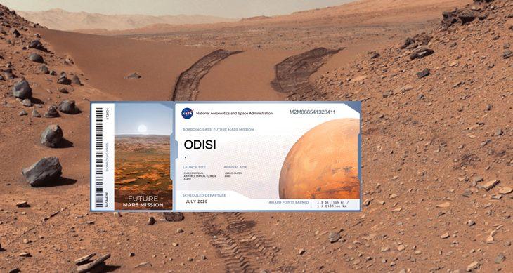 Penduduk Bumi Berpeluang 'Sertai' Misi NASA Ke Marikh Untuk Tahun 2026