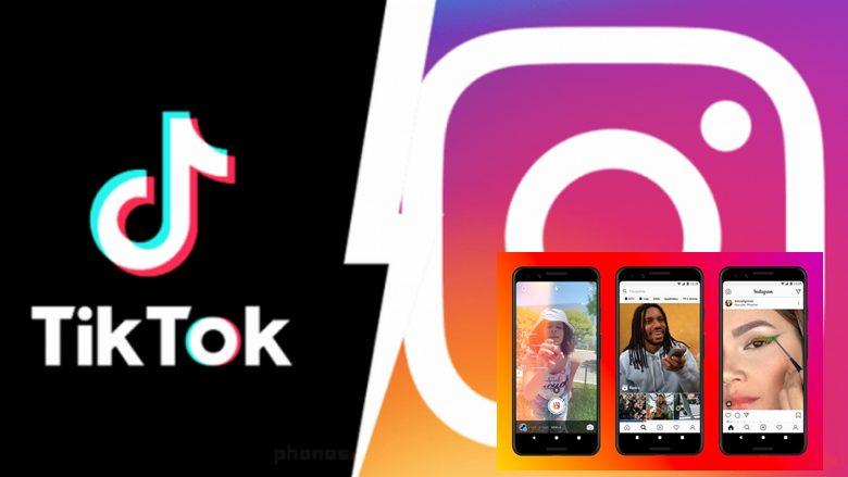 TikTok Instagram Reels