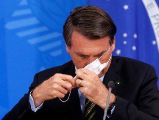 Presiden Brazil Positif COVID-19