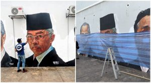 Mural Wira Negara Mangsa Vandalisme