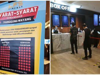 Pawagam Terengganu Pertama Zon Pengasingan Jantina