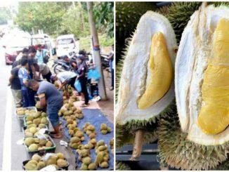 Taktik Peniaga Durian Kenderaan Mewah