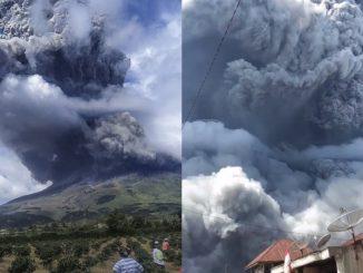 Gunung Sinabung Mungkin Akan Meletus Lebih Kerap 3