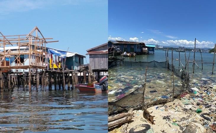 Menghampiri PRN, Gambar Perkampungan Pulau Sabah Penuh Sampah Tarik Perhatian Netizen 4