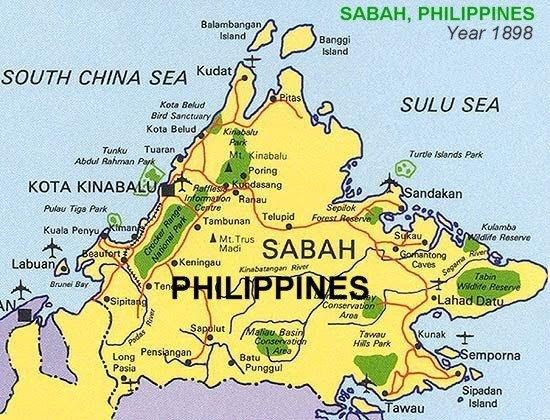 Negeri Sabah Dapat Kebenaran Untuk Dimasukkan Ke Dalam Peta Filipina 1
