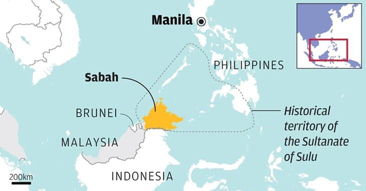 Negeri Sabah Dapat Kebenaran Untuk Dimasukkan Ke Dalam Peta Filipina