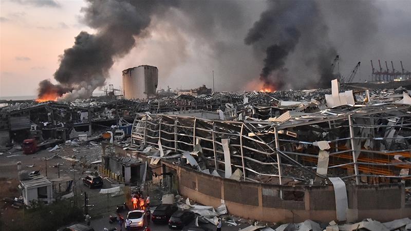 Sedih Bertukar Marah, Seruan Reformasi Bergema Selepas Insiden Letupan Beirut 3