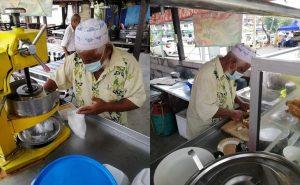 Sehari Pernah Dapat RM3, Kisah Pak Cik Jual Cendol Dalam Keadaan Kaki Patah Runtun Hati Netizen 2
